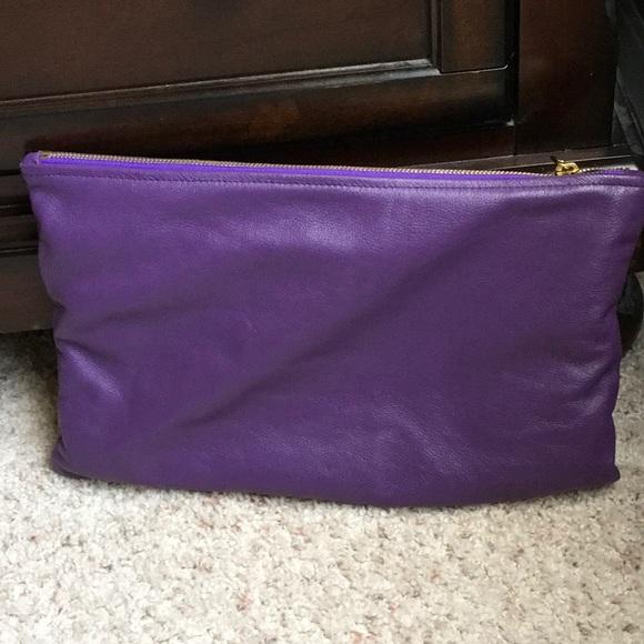 e086a6209ca4 American Apparel Handbags - American apparel leather clutch